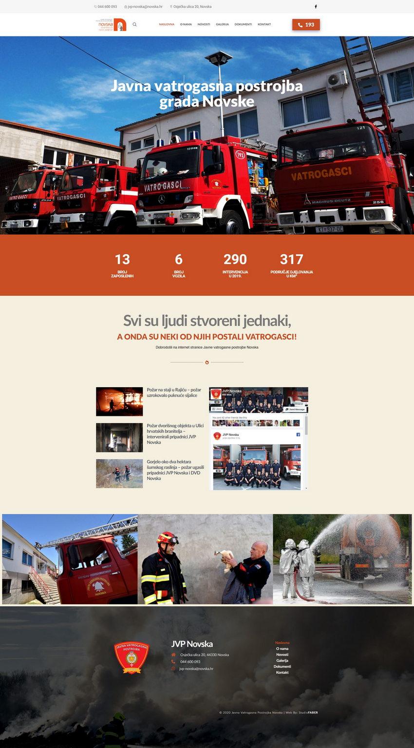 Javna vatrogasna postrojba Grada Novske
